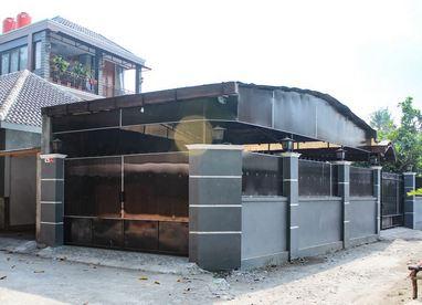 Fasad Rumah Homestay Omah Banguntapan Jogja