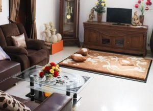 Ruang Keluarga Homestay di Jogja Omah Banguntapan