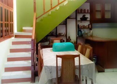 Ruang Makan Homestay Jogja Omah Umbulharjo