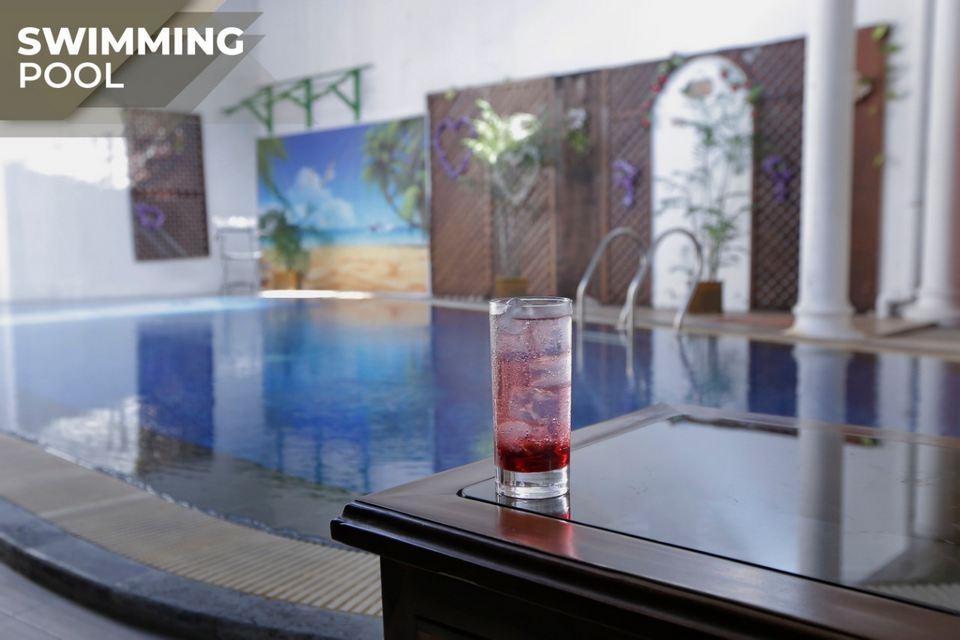 Swimming Pool Omah Jogokaryan Homestay Jogja