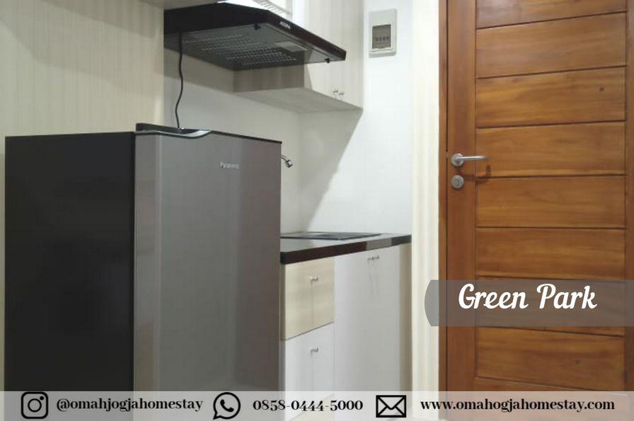 Homestay Green Park Room Jogja - Dapur