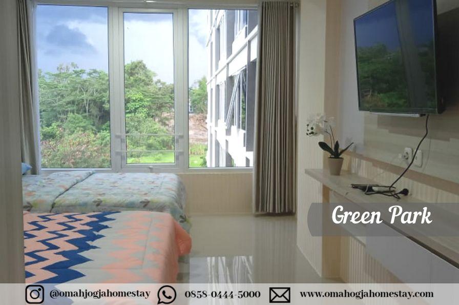 Homestay Green Park Room Jogja - Kamar Tidur