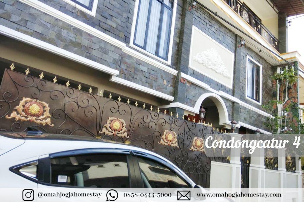 Homestay Omah Condongcatur 4 - Tampak Depan