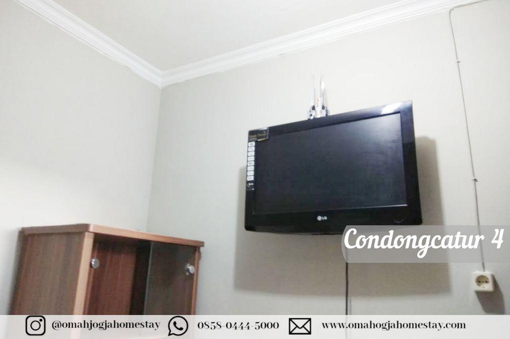 Homestay Omah Condongcatur 4 - Tv
