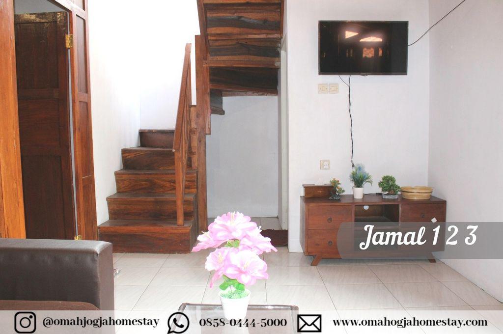 Homestay Omah Jamal 123 Ruang Keluarga