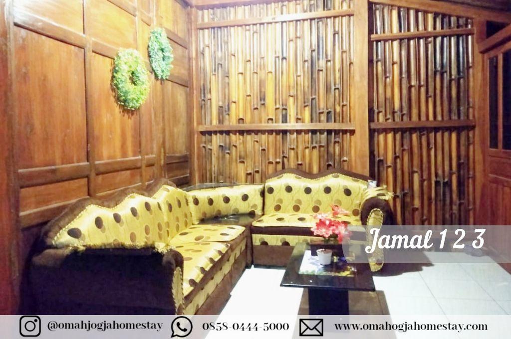 Homestay Omah Jamal 123 Ruang Tamu