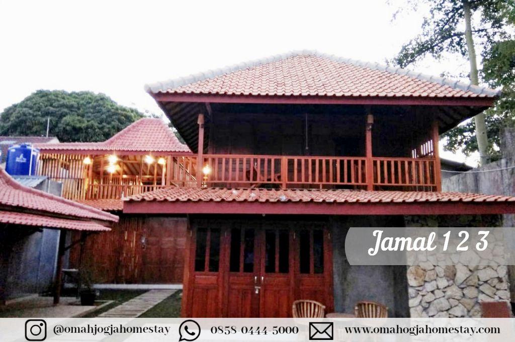 Homestay Omah Jamal 123 Tampak Depan