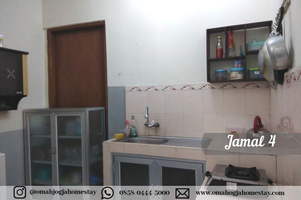 Homestay Omah Jamal 4 Jogja - Dapur