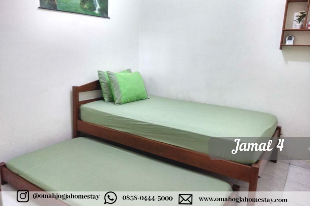Homestay Omah Jamal 4 Jogja - Kamar Tidur