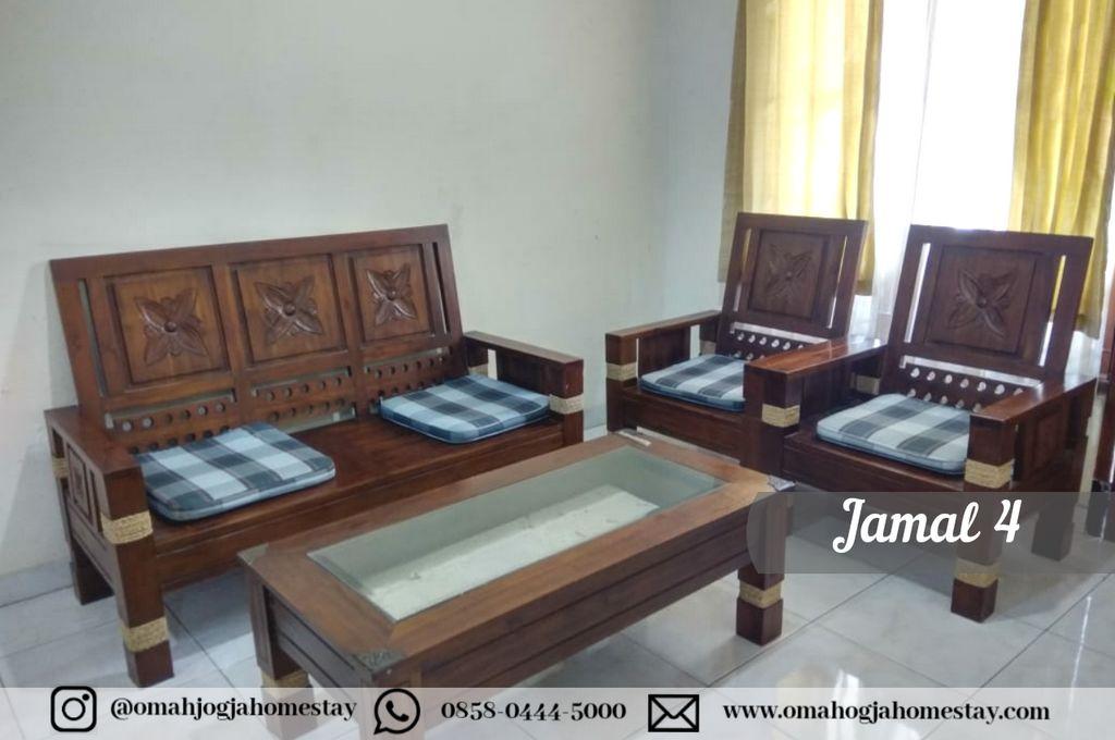 Homestay Omah Jamal 4 Jogja - Ruang Tamu