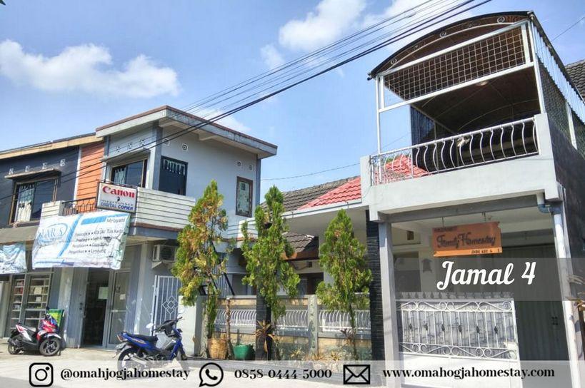Homestay Omah Jamal 4 Jogja - Tampak Depan