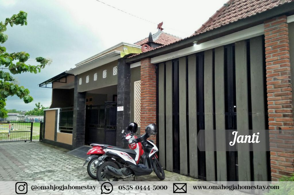 Homestay Omah Janti Jogja - Tampak Depan