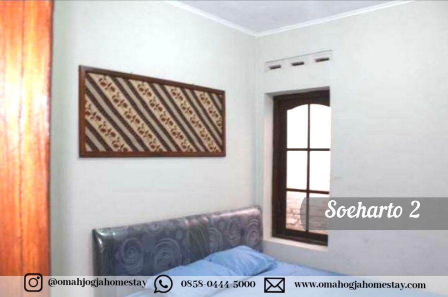 Homestay Omah Soeharto 2 - Kamar Tidur