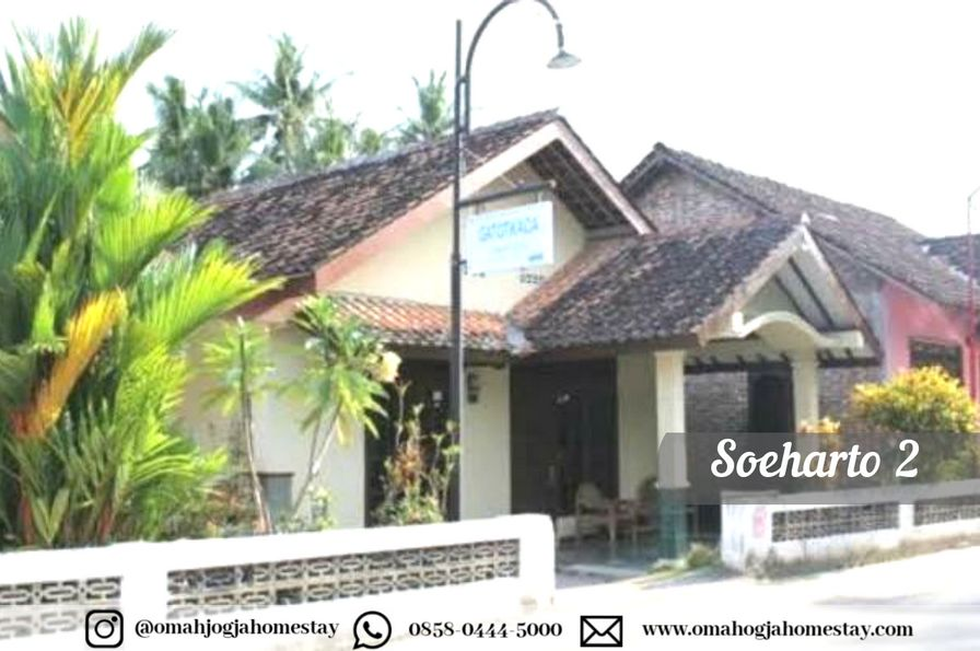 Homestay Omah Soeharto 2 - Tampak Depan