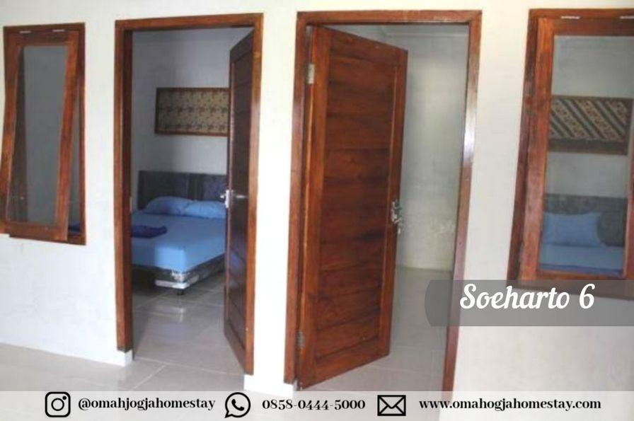 Homestay Omah Soeharto 6 - Kamar Tidur