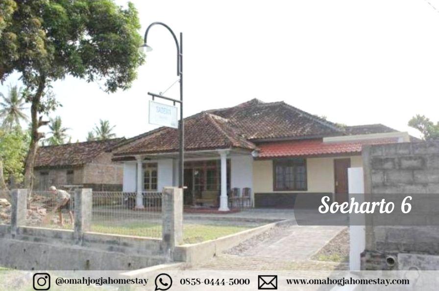 Homestay Omah Soeharto 6 - Tampak Depan 2