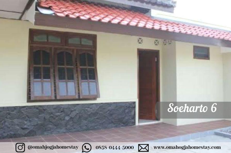 Homestay Omah Soeharto 6 - Tampak Depan