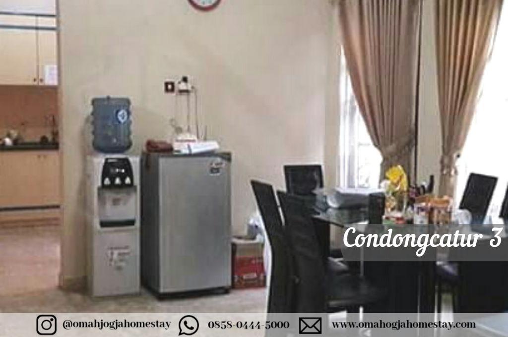 Omah Condong Catur 3 Homestay - Dapur