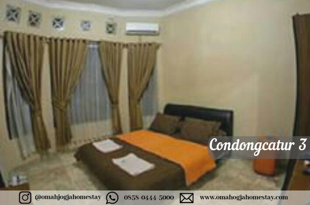Omah Condongcatur 3 Homestay - Kamar Tidur