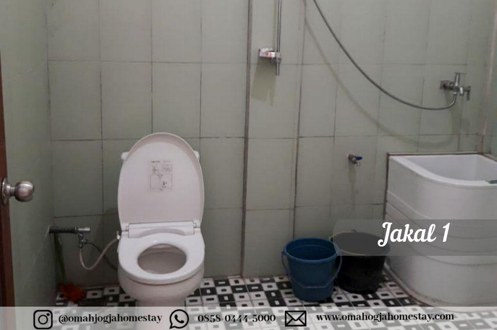 Omah Jakal 1 Kaliurang - Kamar Mandi