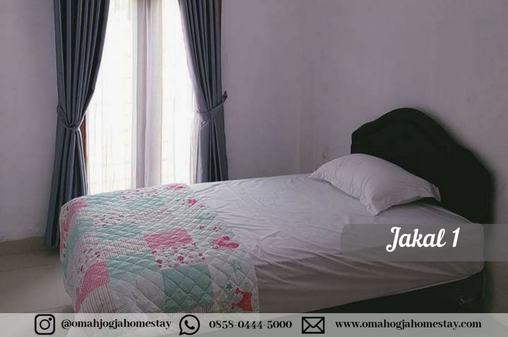 Omah Jakal 1 Kaliurang - Kamar Tidur