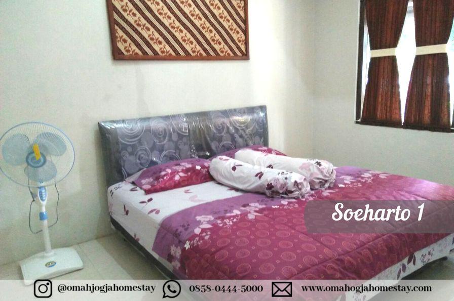 Omah Soeharto 1 - Kamar Tidur