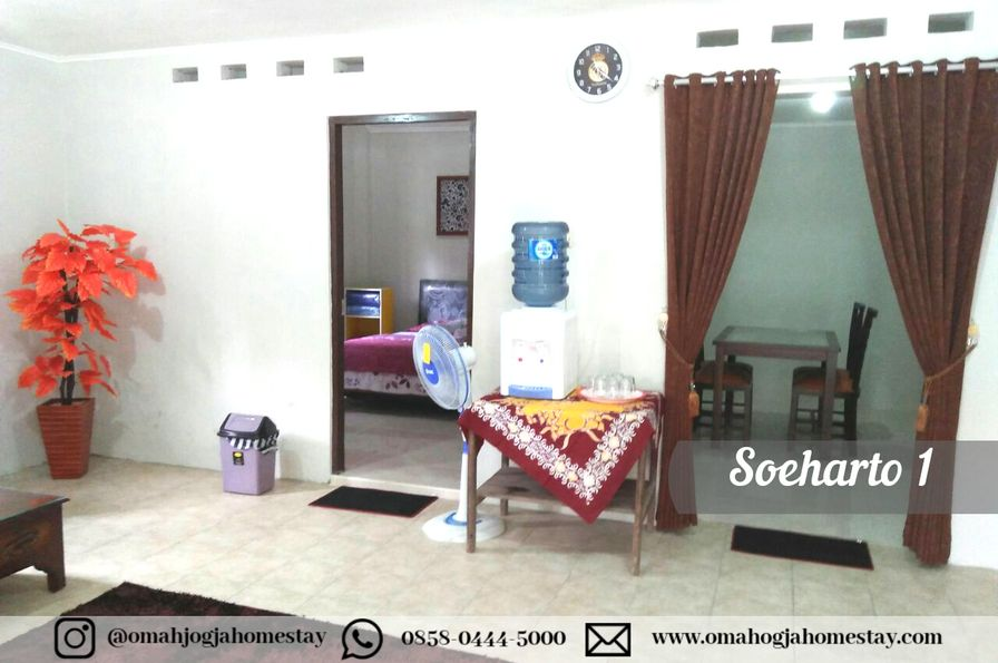 Omah Soeharto 1 - Ruang Keluarga