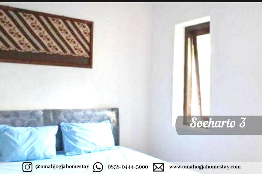 Omah Jogja Homestay - Soeharto 3 - Kamar Tidur