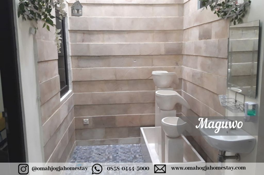 Omah Maguwo Homestay - Kamar Mandi