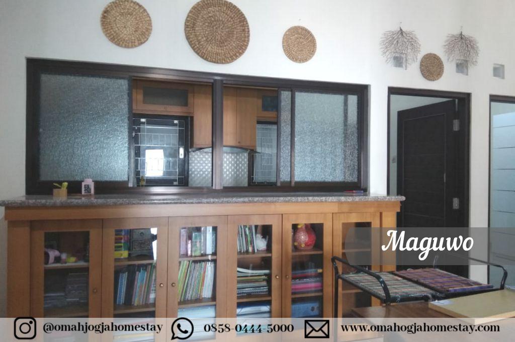 Omah Maguwo Homestay - Koleksi baca