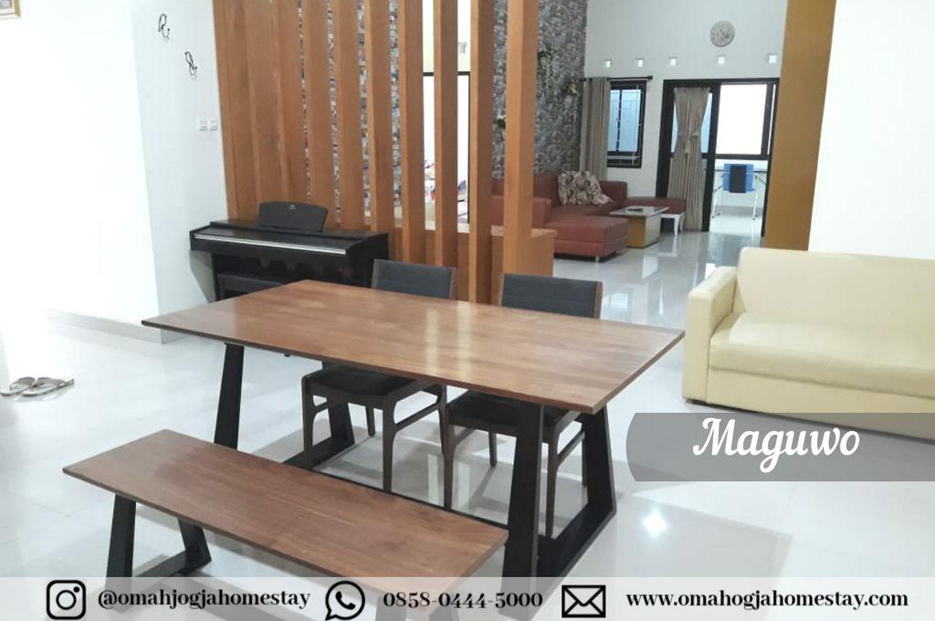 Omah Maguwo Homestay - Ruang Keluarga