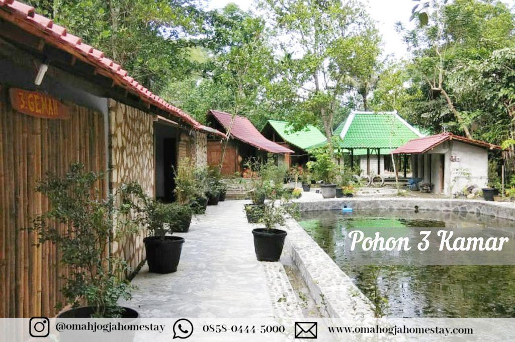 Omah Pohon Homestay 3 Kamar - Tampak Depan