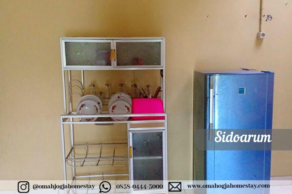 Omah Sidoarum Homestay - Dapur