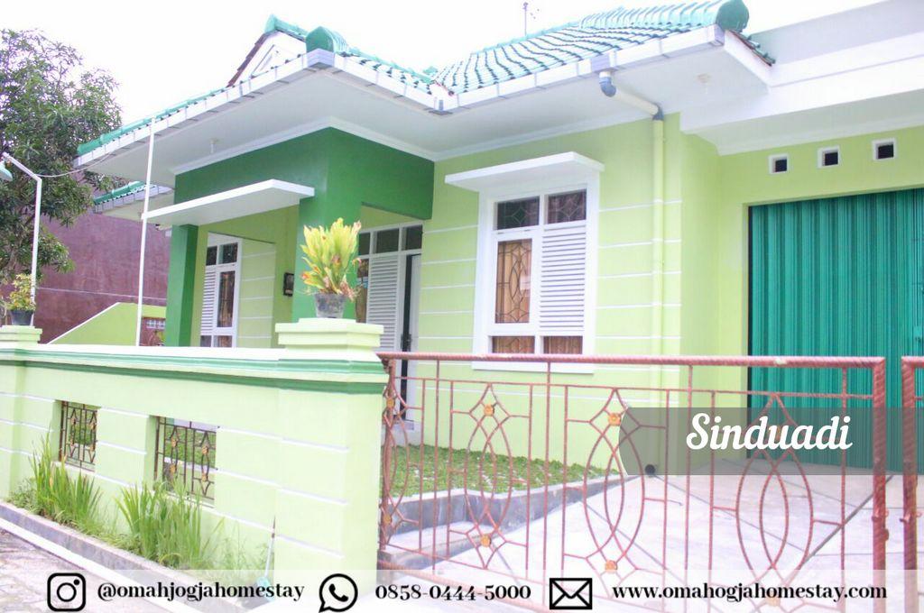 Omah Sinduadi Homestay - Tampak Depan